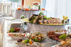 Stay healthy when catering in.